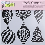 Design Stencil - Ornaments