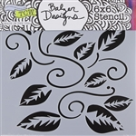 Design Stencil - Tangled Vine