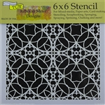 Design Stencil - Spanish Tile