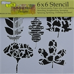 Design Stencil - Leaf Collection