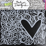 Design Stencil - Love Frame