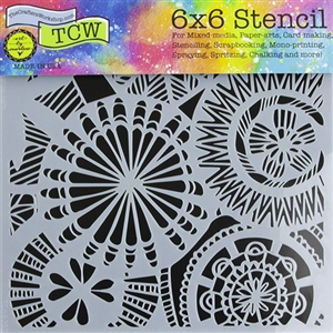 Design Stencil - Floral Spectacle