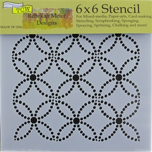 Design Stencil - Dotted Rings