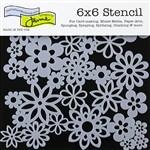 Design Stencil - Gathered Flowers