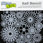 Design Stencil - Flower Frenzy