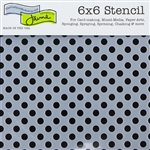 Design Stencil - Swiss Dot