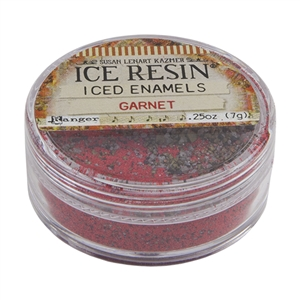 ICE Resin® ICED Enamels - Garnet - .25 oz