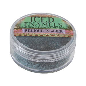 ICE Resin® ICED Enamels - Relique Powder Turquoise - .25 oz