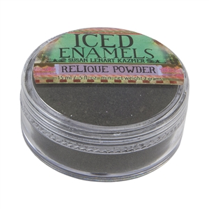 ICE Resin® ICED Enamels - Relique Powder Tarnished Bronze - .25 oz