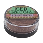 ICE Resin® ICED Enamels - Relique Powder Glitz Copper - .25 oz