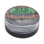 ICE Resin® ICED Enamels - Relique Powder Glitz Silver - .5floz