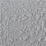 Long Mega Texture Tile - Feline Friends