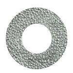 Sterling Silver Hammered Disc - 20.5mm - Pkg 2