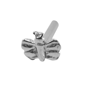 Sterling Silver Rivet - Butterfly 1mm Pkg - 2