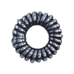Silver Plate Spacer - Coiled