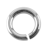 Sterling Silver Open Jump Rings - Round