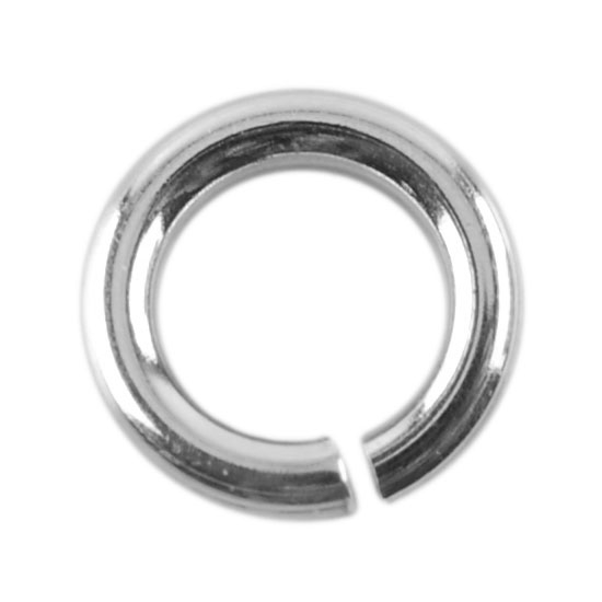 b44a2ed627f72 Sterling Silver Open Jump Rings | Round | Cool Tools