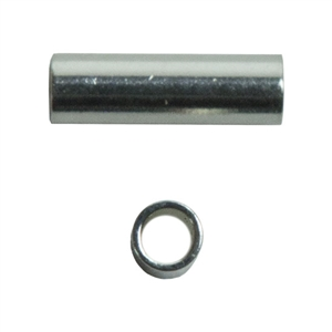 Sterling Silver Tube Bead - 1.5mm x 5mm