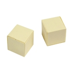 Wanaree Tanner Hollow Form - Refill Burnout Forms - 18mm Cube - Pkg/2
