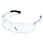 Magnifier Safety Glasses - Bifocal +1.0