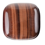 Natural Tiger Eye Red Gemstone - Cabochon Square