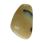 Natural Honey Opal Gemstone - Freeform Cabochon 16mm x 26mm Pkg - 1