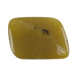 Natural Honey Opal Gemstone - Freeform Cabochon 21mm x 29m Pkg - 1