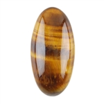 Natural Yellow Tiger Eye Gemstone - Cabochon Oval
