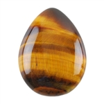 Natural Yellow Tiger Eye Gemstone - Cabochon Pear