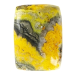 Natural Bumblebee Jasper Gemstone - Rectangle Cabochon 20.5mm x 28mm - Pkg/1