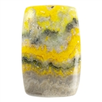 Natural Bumblebee Jasper Gemstone - Rectagle Cabochon 21.5mm x 33.5mm - Pkg/1