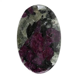 Natural Eudialyte Gemstone - Oval Cabochon 18mm x 28mm - Pkg/1