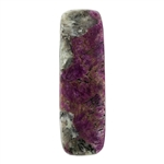 Natural Eudialyte Gemstone - Long Rectangle Cabochon 10.5mm x 34mm - Pkg/1