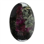 Natural Eudialyte Gemstone - Oval Cabochon 18mm x 27.5mm - Pkg/1