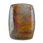 Natural Pietersite Gemstone - Cabochon Rectangle 10x14mm Pkg - 1