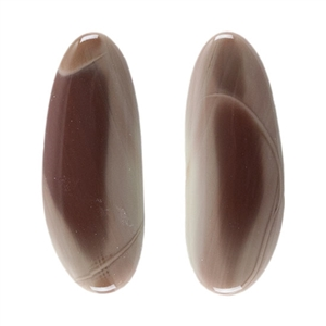Royal Imperial Jasper Gemstone - Freeform Cabochons 10mm x 25mm