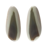Royal Imperial Jasper Gemstone - Freeform Cabochons 11mm x 25mm