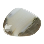Thunder Egg Agate Gemstone - Cabochon Freeform 33mm x 43mm Pkg - 1