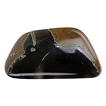 Thunder Egg Agate Gemstone - Cabochon Freeform 29mm x 31mm Pkg - 1