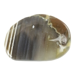 Thunder Egg Agate Gemstone - Cabochon Freeform 28mm x 36mm Pkg - 1