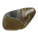 Thunder Egg Agate Gemstone - Cabochon Freeform 25mm x 43mm Pkg - 1