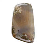 Thunder Egg Agate Gemstone - Cabochon Freeform 21mm x 36mm Pkg - 1