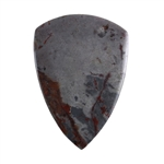 Sonora Dendritic Rhyolite Jasper Gemstone - Shield Cabochon 31mm x 43mm - Pak of 1