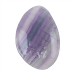 Natural Rainbow Fluorite Gemstone - Cabochon Freeform 14.5mm x 21mm