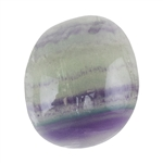 Natural Rainbow Fluorite Gemstone - Cabochon Freeform 16mm x 18.5mm