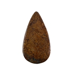 Natural Bronzite Gemstone - Cabochon Pear 23x43mm - Pak of 1