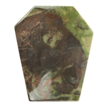 Mushroom Jasper Gemstone - Cabochon Freeform 32mm x 38mm Pkg - 1