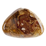 Natural Namibian Pietersite Gemstone - Freeform Cabochon 26mm x 35.5mm