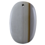 Cripple Creek Picture Jasper Gemstone - Oval Pendant 32mm x 51mm