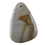 Cripple Creek Picture Jasper Gemstone - Freeform Pendant 34mm x 50mm
